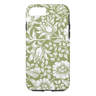 William Morris Mallow Green Pattern iPhone 7 Case