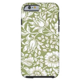 William Morris Mallow Green Pattern Tough iPhone 6 Case