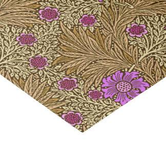 William Morris Marigold, Brown, Beige and Violet Tissue Paper