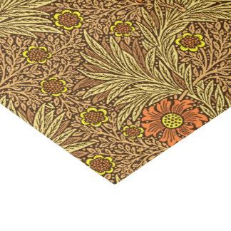 William Morris Marigold, Copper Brown and Orange Tissue Paper