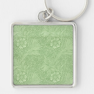 William Morris Marigold (Green) Pattern Key Ring