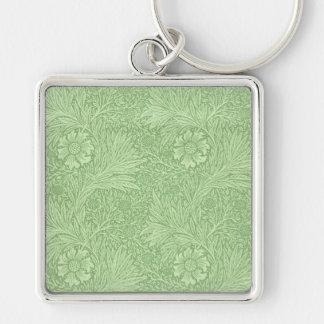 William Morris Marigold (Green) Pattern Key Ring