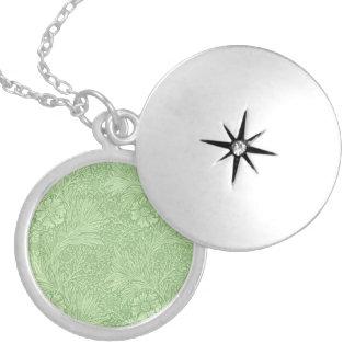 William Morris Marigold (Green) Pattern Necklace