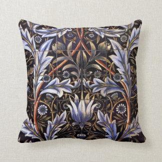 "William Morris ""Membland"" Throw Pillow"