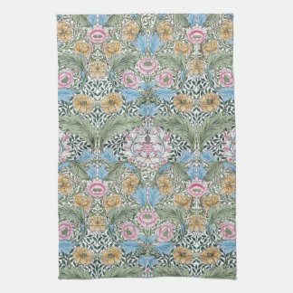 William Morris Myrtle Floral Kitchen Tea Towel