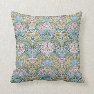 William Morris Myrtle Floral Pattern Throw Pillow Cushions