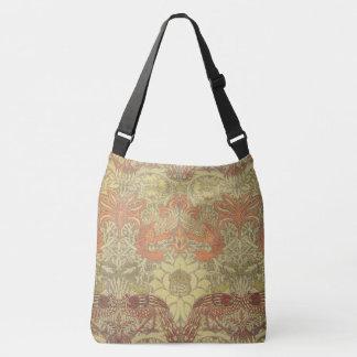 William Morris Peacock and Dragon Pattern Tote Bag