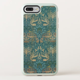 William Morris Peacock and Dragon Textile Design OtterBox Symmetry iPhone 8 Plus/7 Plus Case