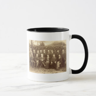 William Morris, photographed with the Staff at Kel Mug