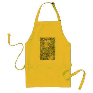 William Morris Pimpernel Floral Design Standard Apron