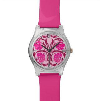 William Morris Pimpernel, Fuchsia & Light Pink Wrist Watches