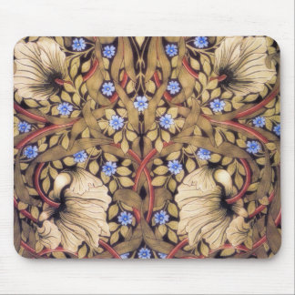 William Morris Pimpernel Vintage Floral Mouse Mat