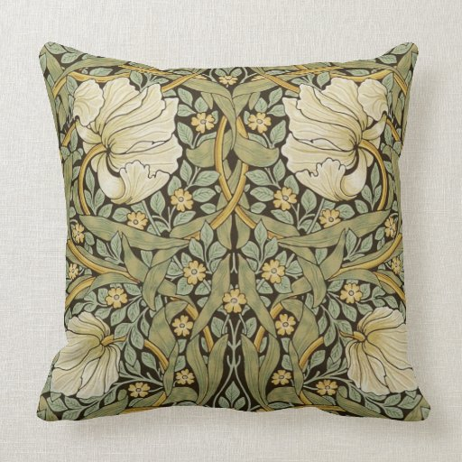 William Morris Pimpernel Vintage Pre-Raphaelite Cushion