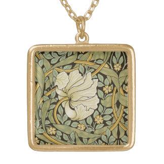 William Morris Pimpernel Vintage Pre-Raphaelite Gold Plated Necklace
