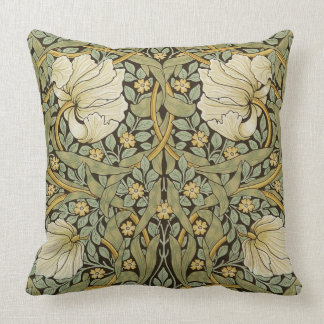 William Morris Pimpernel Vintage Pre-Raphaelite Throw Pillow