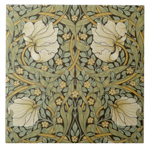 Buy Cheap Elegant Floral Poppy Design Antique 6 Inch Tile Wide Varieties Architectural & Garden Antiques