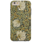 William Morris Pimpernel Vintage Pre-Raphaelite Tough iPhone 6 Plus Case
