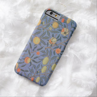 William Morris Pomegranate Floral Vintage Fine Art Barely There iPhone 6 Case