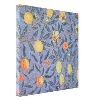 William Morris Pomegranate Floral Vintage Fine Art Canvas Print