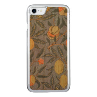 William Morris Pomegranate Floral Vintage Fine Art Carved iPhone 8/7 Case