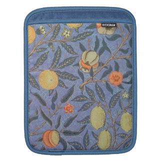 William Morris Pomegranate Floral Vintage Fine Art iPad Sleeve