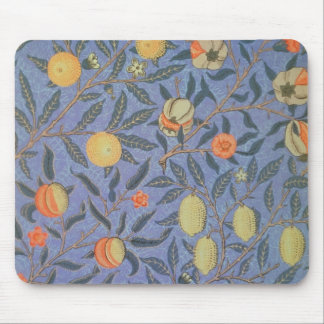 William Morris Pomegranate Floral Vintage Fine Art Mouse Pad