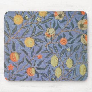 William Morris Pomegranate Floral Vintage Fine Art Mouse Pad