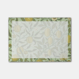 William Morris Pomegranate Fruit Design Post-it® Notes
