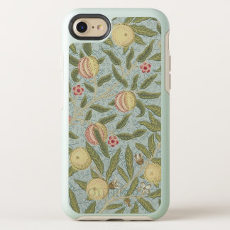 William Morris Pomegranate Pattern Blue Vintage OtterBox Symmetry iPhone 8/7 Case