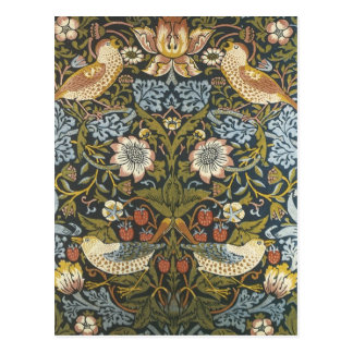 William Morris Postcard