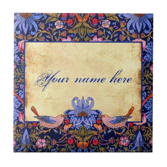 William Morris Pre-Raphaelite Customisable Tile