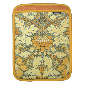 William Morris rich floral pattern iPad Sleeve