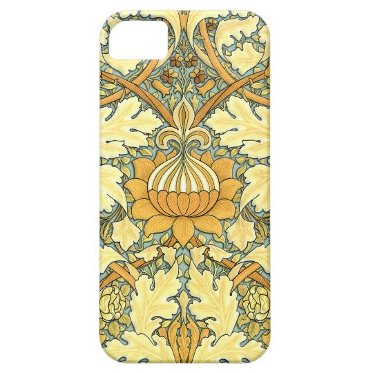 William Morris rich floral pattern iPhone 5 Cover