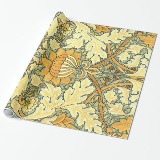William Morris rich floral vintage pattern Wrapping Paper