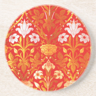 William Morris Rose and Lily Drink Coaster