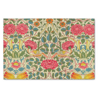 William Morris Rose Floral Vintage Tissue Paper