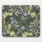 William Morris Seaweed Pattern Floral Vintage Art Mouse Mat