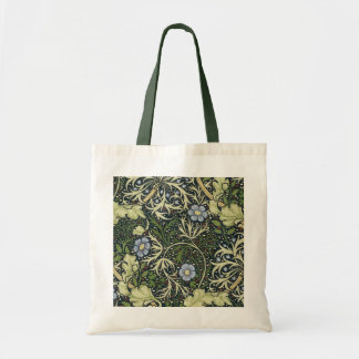 William Morris Seaweed Pattern Floral Vintage Art Tote Bag