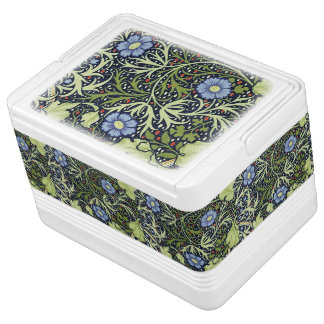 William Morris Seaweed Wallpaper Pattern Igloo Cool Box