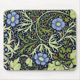 William Morris Seaweed Wallpaper Pattern Mouse Pad