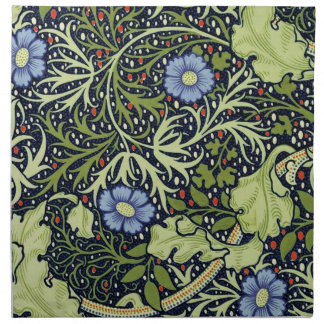 William Morris Seaweed Wallpaper Pattern Napkin