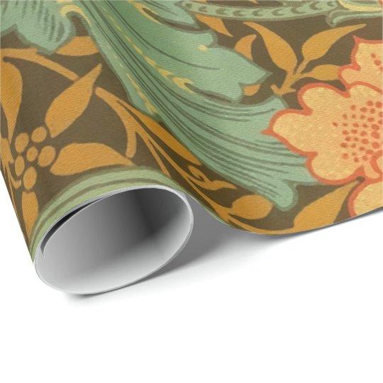 William Morris Single Stem Pattern Art Nouveau Wrapping