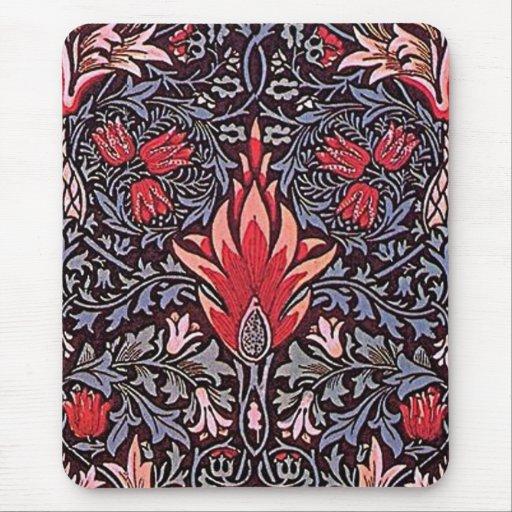 William Morris Snakehead Design - Mousepad