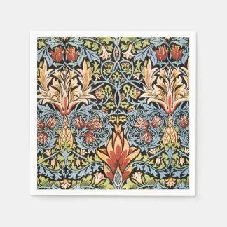 William Morris Snakeshead Design Paper Serviettes