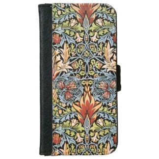 William Morris Snakeshead Design iPhone 6 Wallet Case