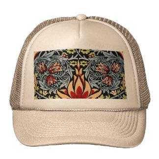 William Morris Snakeshead Floral Design Trucker Hat