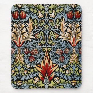 William Morris Snakeshead Floral Design Mouse Pad