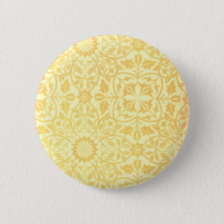 William Morris St. James Place Ceiling Paper 6 Cm Round Badge