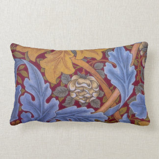 William Morris St. James Vintage Damask Lumbar Cushion