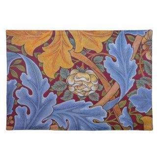 William Morris St. James Vintage Floral Design Placemat